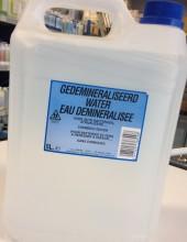 Gedemineraliseerd water
