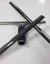 Inox houder + rubber soteco