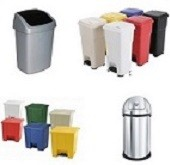 Afvalbakken en systemen