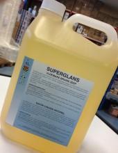 Superglans vloeibare bruine zeep